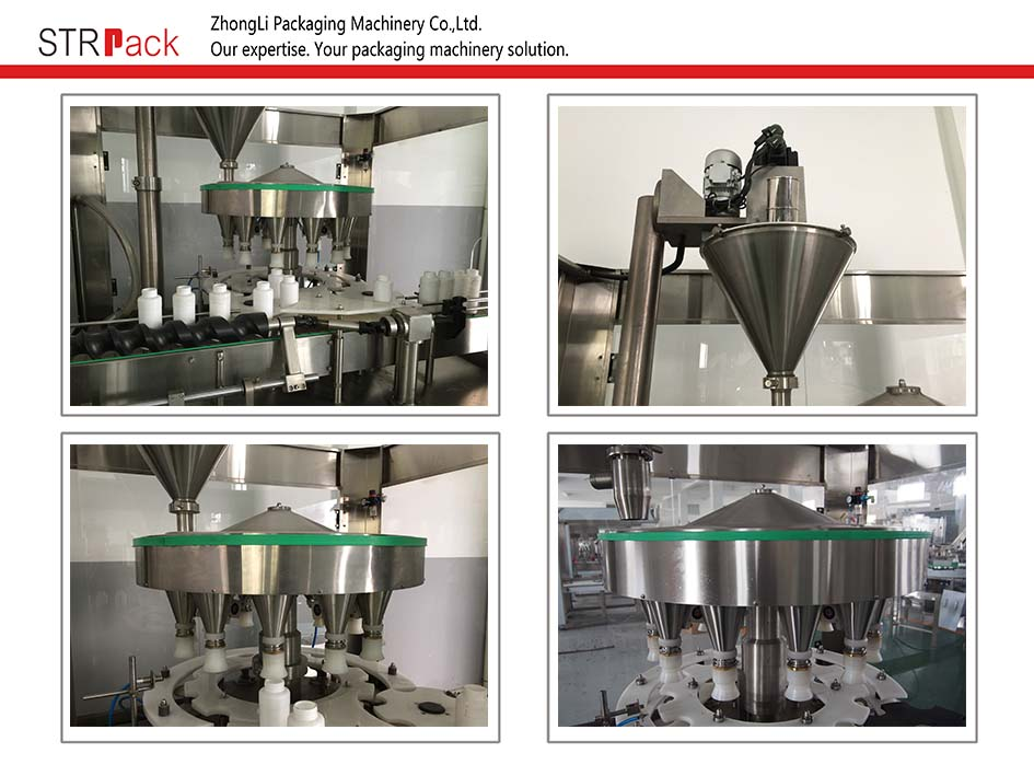 High Speed Automatic Rotary Auger Powder Filler