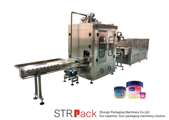 Automatic Vaseline Filling And Cooling Line