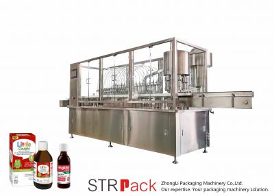 Automatic Oral Liquid Syrup Filling Machine